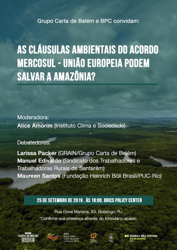 cartaz amazônia - instagram